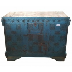 Blauwe dressoir